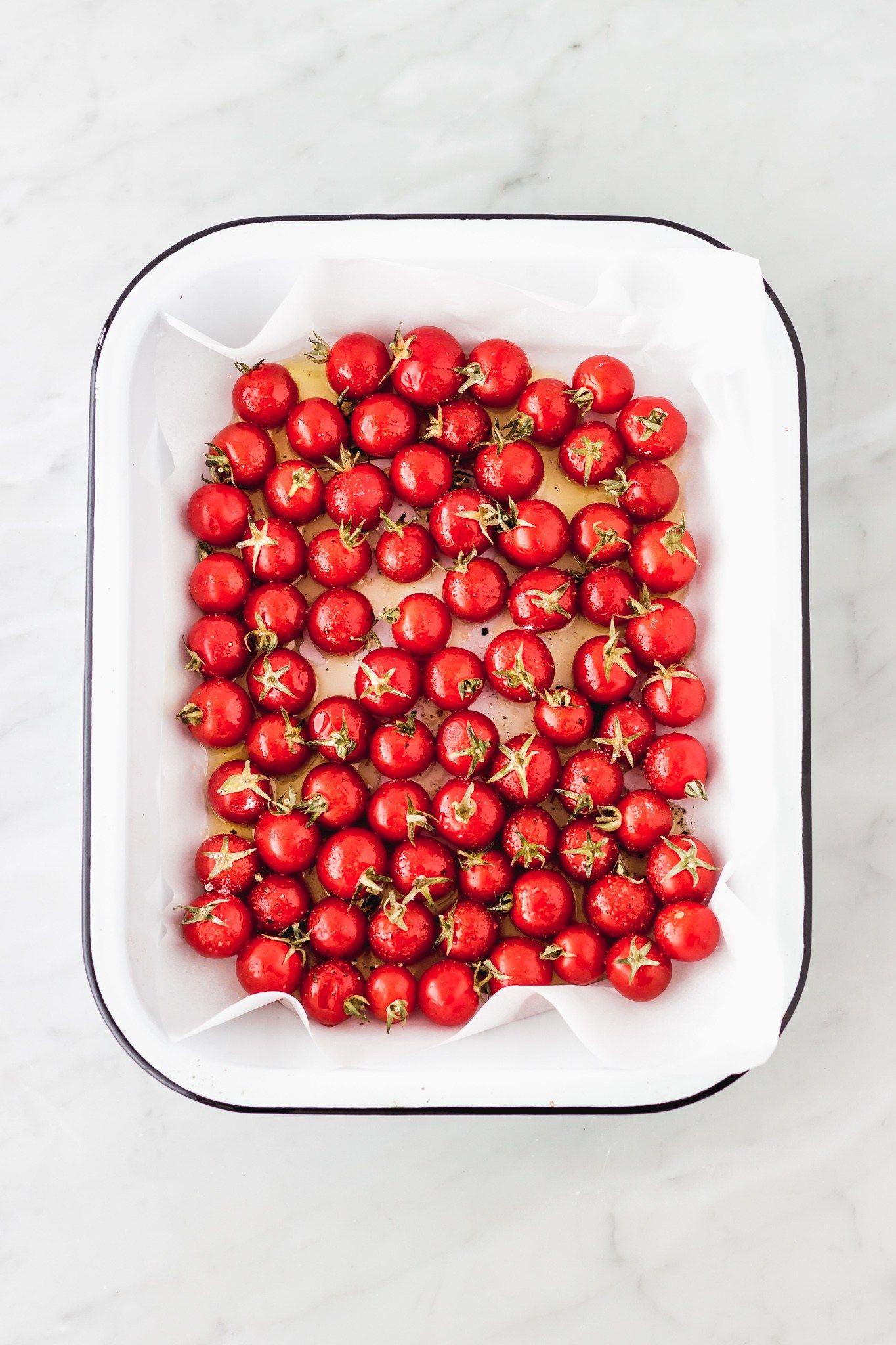 Tomates cherry al horno | Cravings Journal