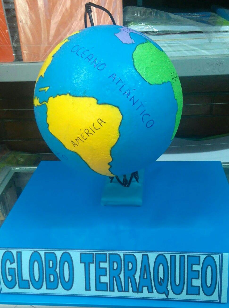 Globo Terraqueo Como Hacer Un Globo Geografia Para Ninos Metodos De Aprendizaje