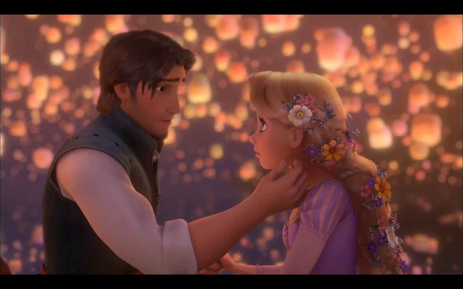 Tangled Hd Wallpapers Of Romance Moment For Desktop Pc 9 Ideas On Pinterest Tangled Wallpaper Animated Movies Tangled