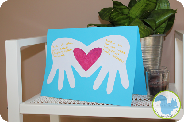Diy Handprint Mother S Day Card 18 Creative Mothers Cards