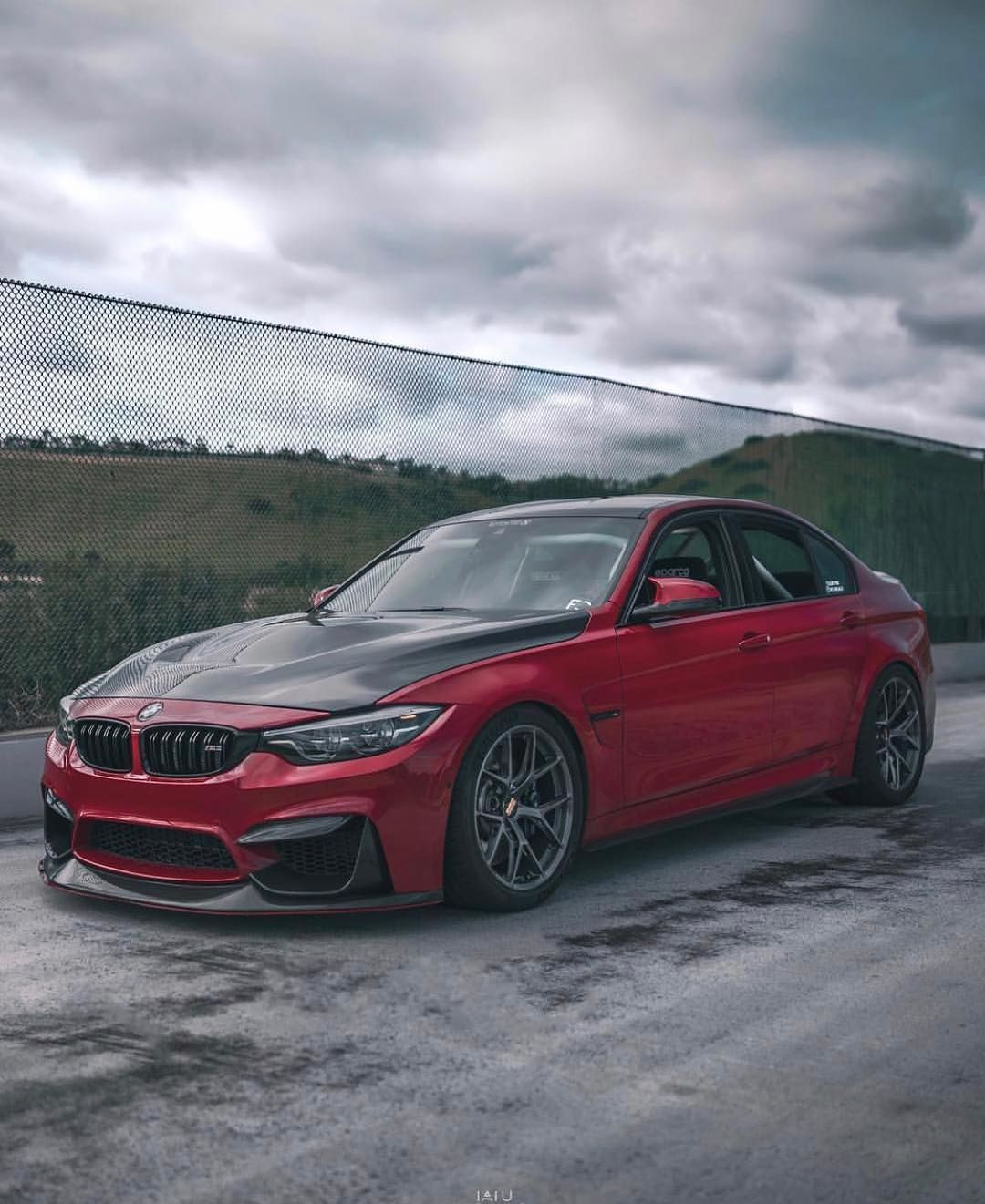 Bmw F80 M3 In Bmw Individual Imola Red Quietf80 With Images