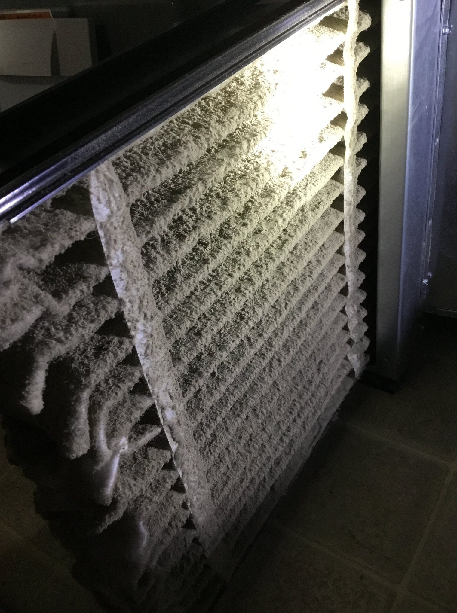 This Is A Furnace Filter From An Actual Aire Serv Client Imagine How Poor The Air Qu In 2020 Bathroom Remodeling Contractors Bathroom Contractors Home Heating