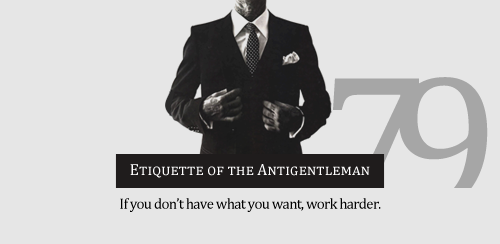 Antigentleman