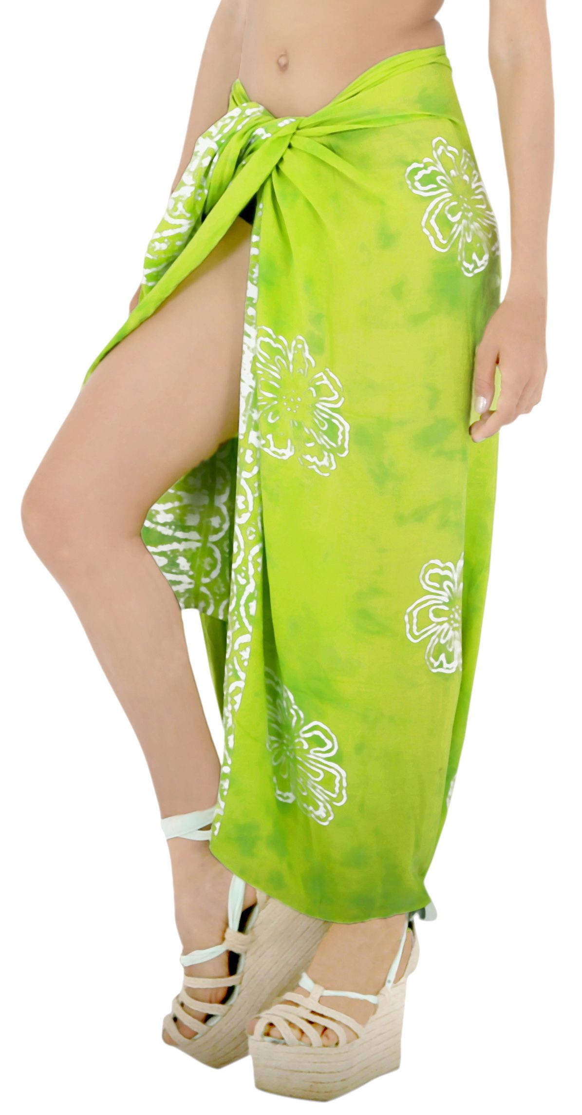 3f75e8ce03 LA LEELA Rayon Womens Sarong Pareo Suit Beach Towel Swimwear Tie Wrap Skirt# Womens, #Sarong, #Pareo