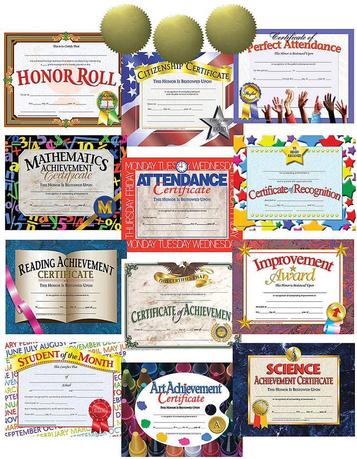 Hayes Certificate Bestseller Award Pack Affiliate Children Kids