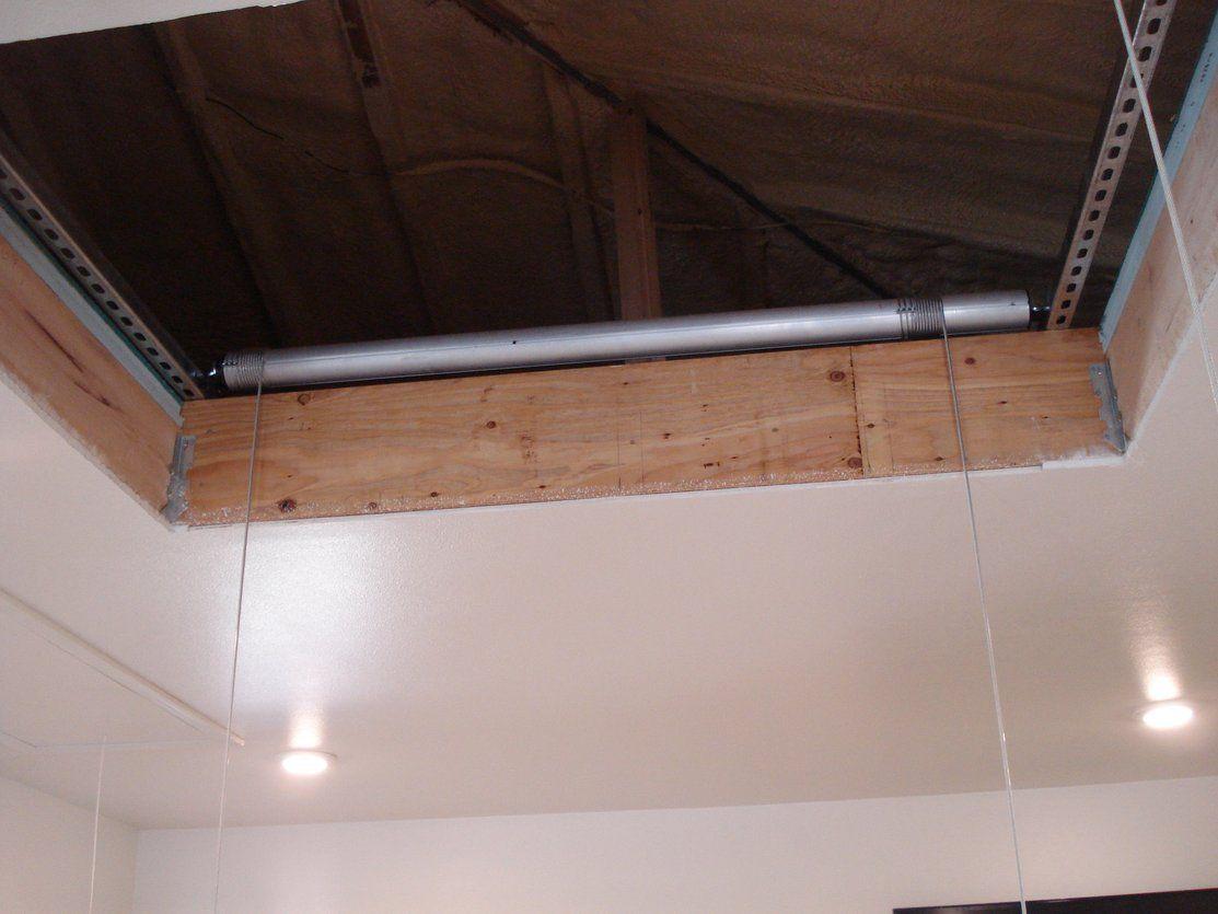 2x4 Ft Custom Size Attic Lift Premium 1400 400 Lb Garage Attic Lift Silver Finish W Remote Attic Lift Garage Attic Lift Large Bathrooms