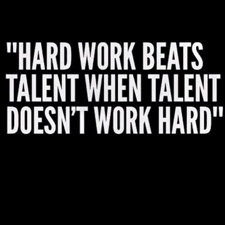 Raw Talent Will Only Get You So Far Hard Work Quotes Work Quotes Talent Quotes