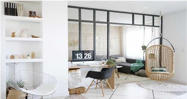 Une verrière atelier construite pour 400u20ac Minis, Couple et Bureaux