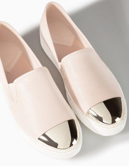 chaussures slip on pointues toutes femme stradivarius france envie fringue pinterest. Black Bedroom Furniture Sets. Home Design Ideas