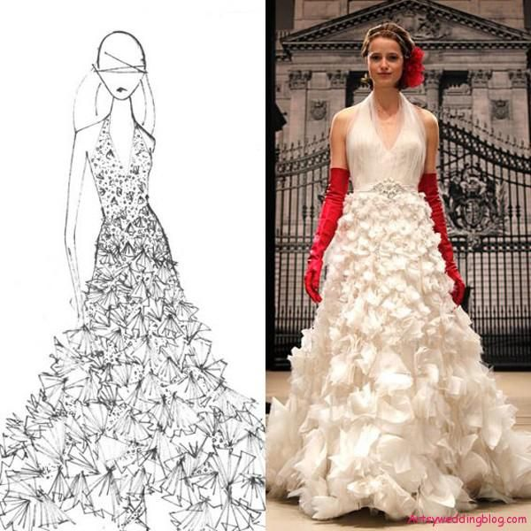 an acclaimed fashion designer from lebanon reem acra has become well known for her gorgeous bridal gown designs with her designed gracing the racks of high
