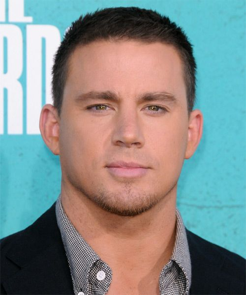 Channing Tatum Short Straight Casual Hairstyle Hairstyles
