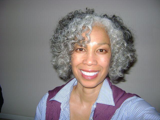 African American Natural Gray Hairstyles Gray Natural And