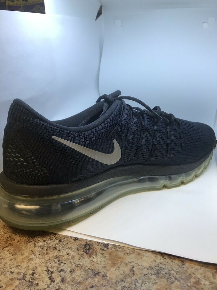 Nike Air Max 2016 Black Running Shoes Size 13 $190 806771
