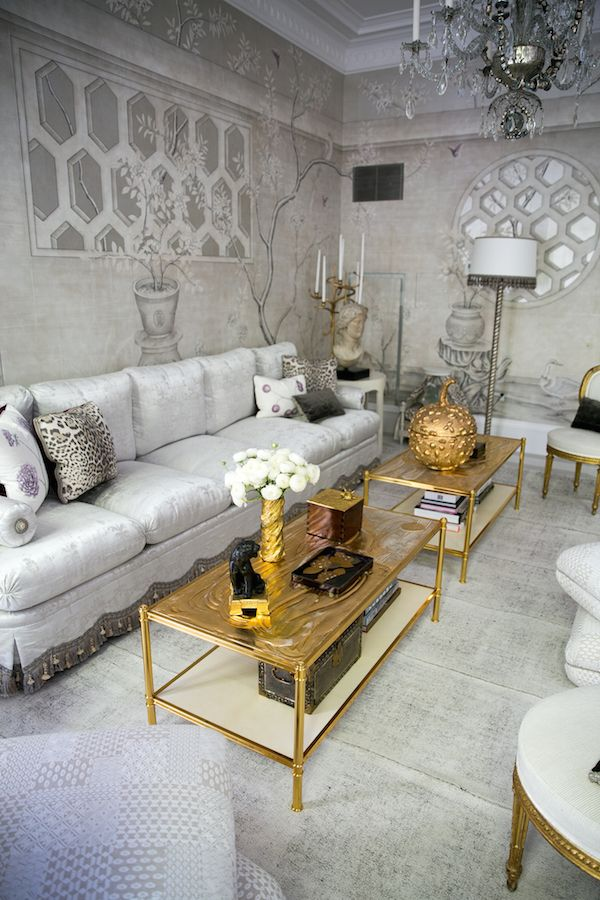 Coffee tables in Alex Papachristidis Kips Bay Show house