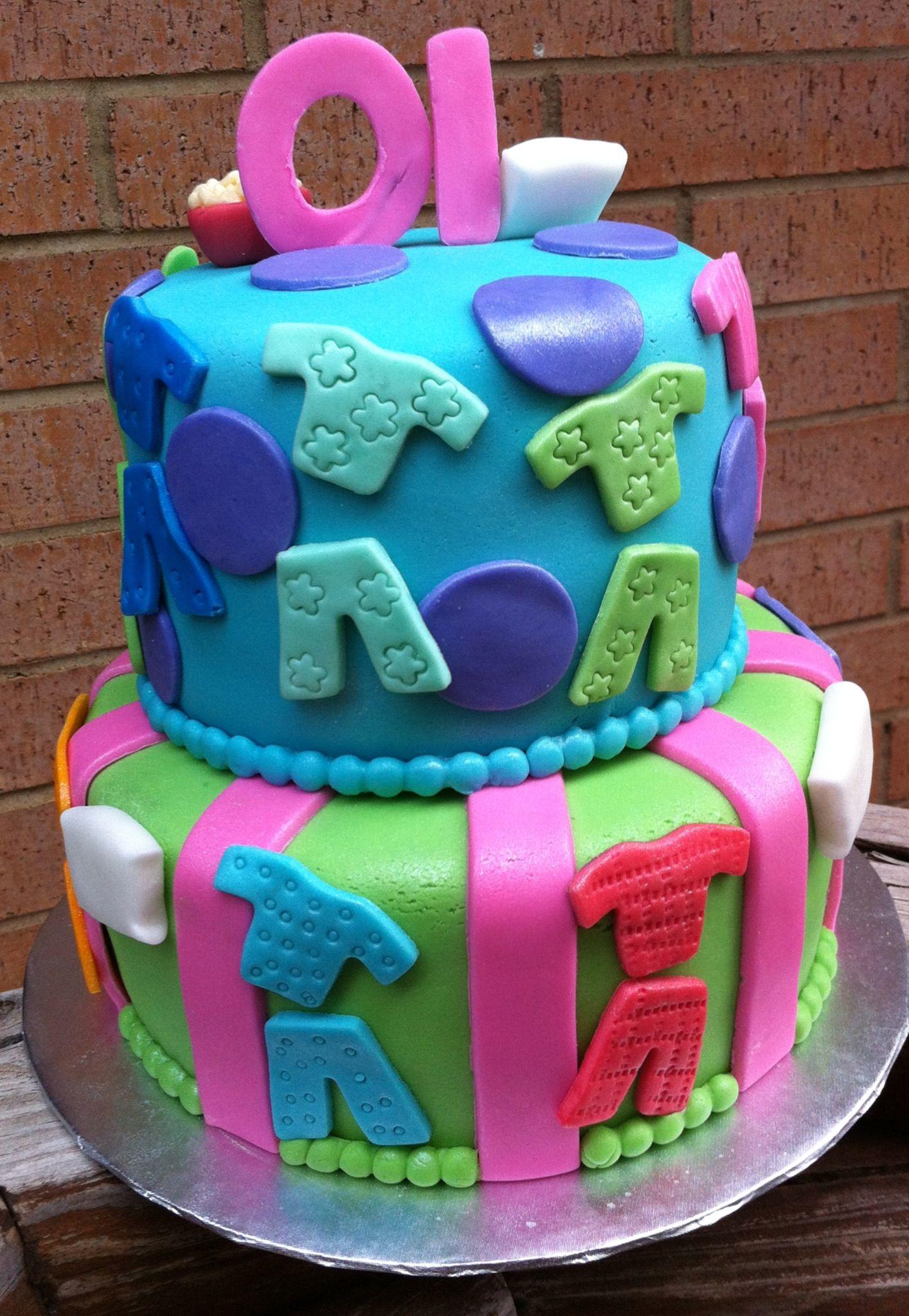 Pajama Party Cake Pajama party Pinterest