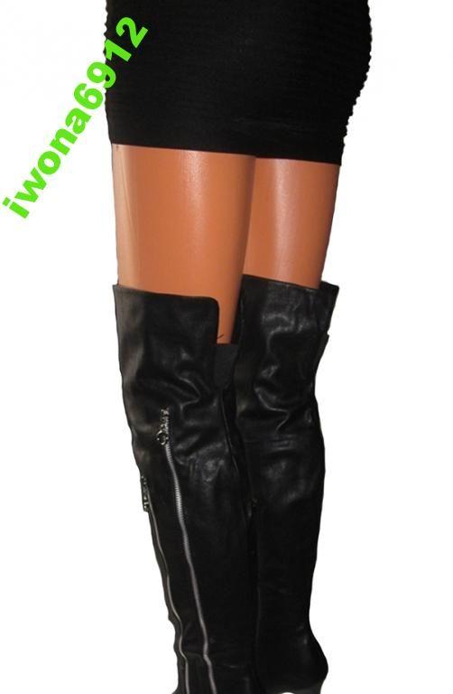 Damskie Dlugie Kozaki Muszkieterki Szpilka Roz 38 4075044454 Oficjalne Archiwum Allegro Over Knee Boot Fashion Knee Boots