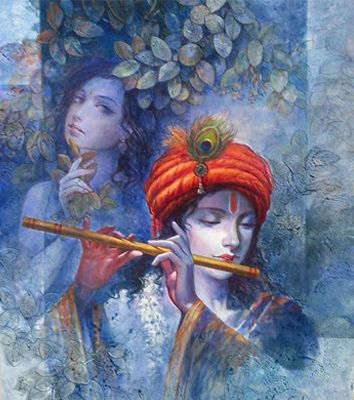 Radha Krishna With Images Krishna Art Krishna Radha Painting Krishna Painting