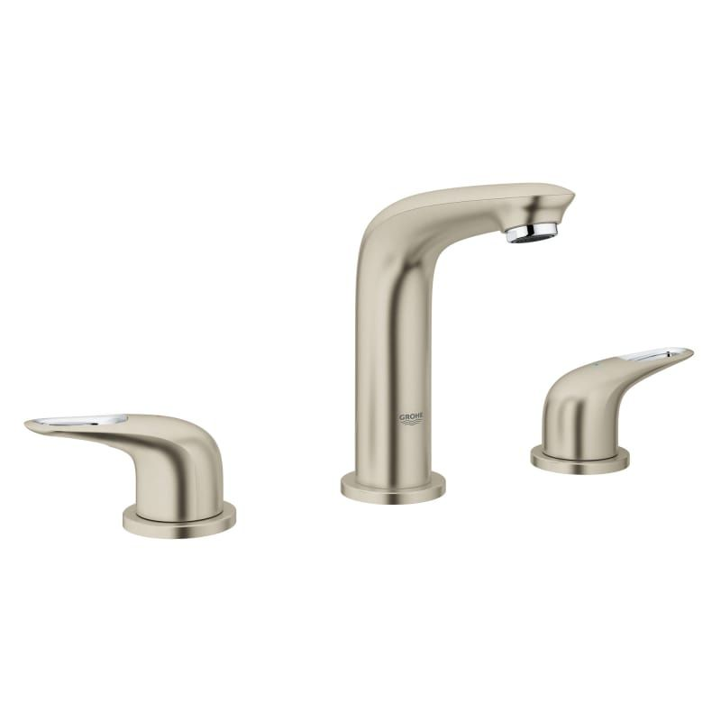 Grohe 20 486 3 Eurostyle 1 2 Gpm Widespread Deck Mounted Bathroom