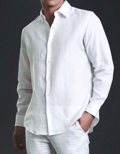 camisa-lino-blanca  dosleonesmen  menswear  menstyle  eb0d53545a7
