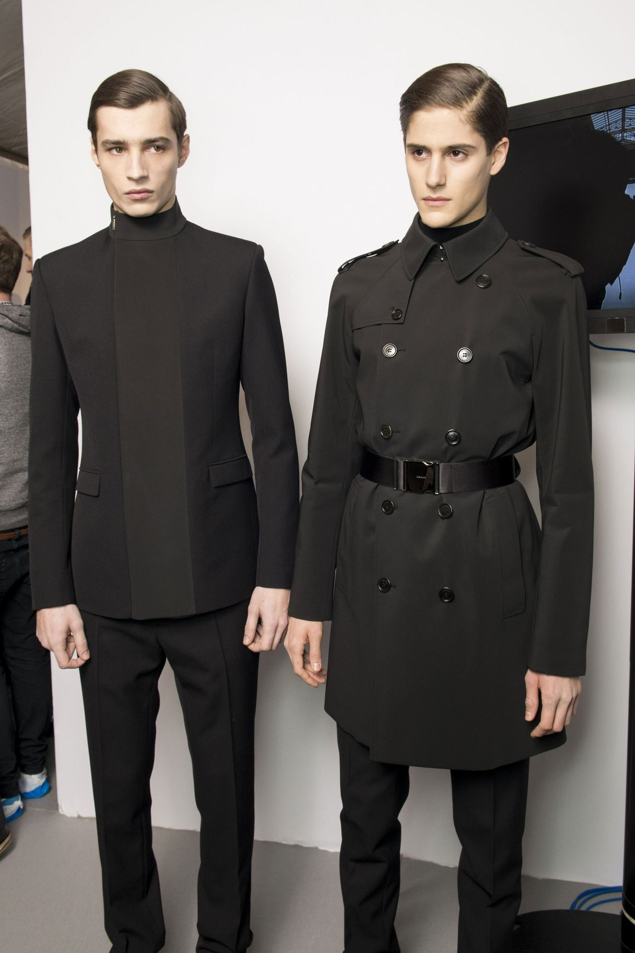 Dior Homme AW13, Backstage