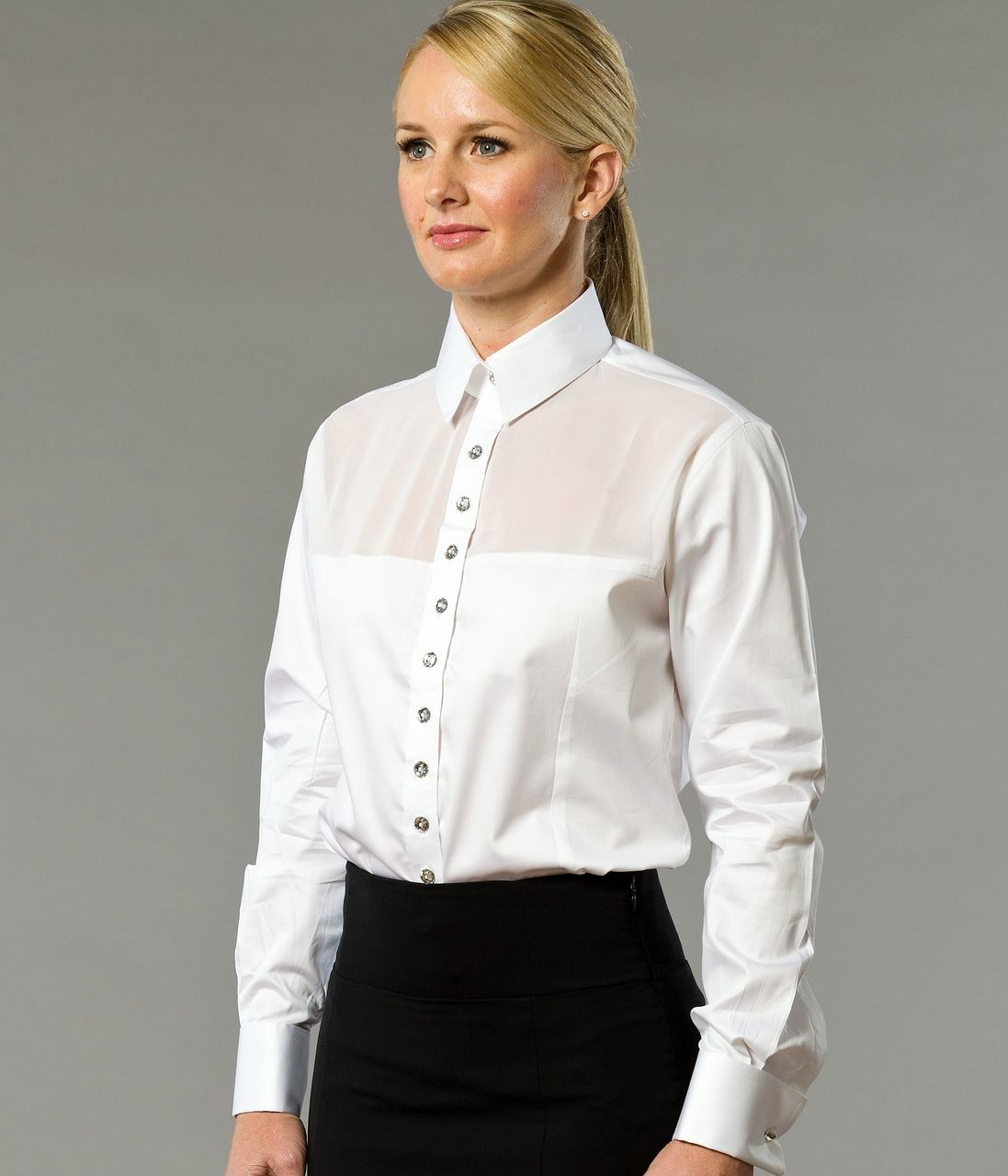 A Day in Paris Women's Business Shirt | Designed by The Shirt muse ...
