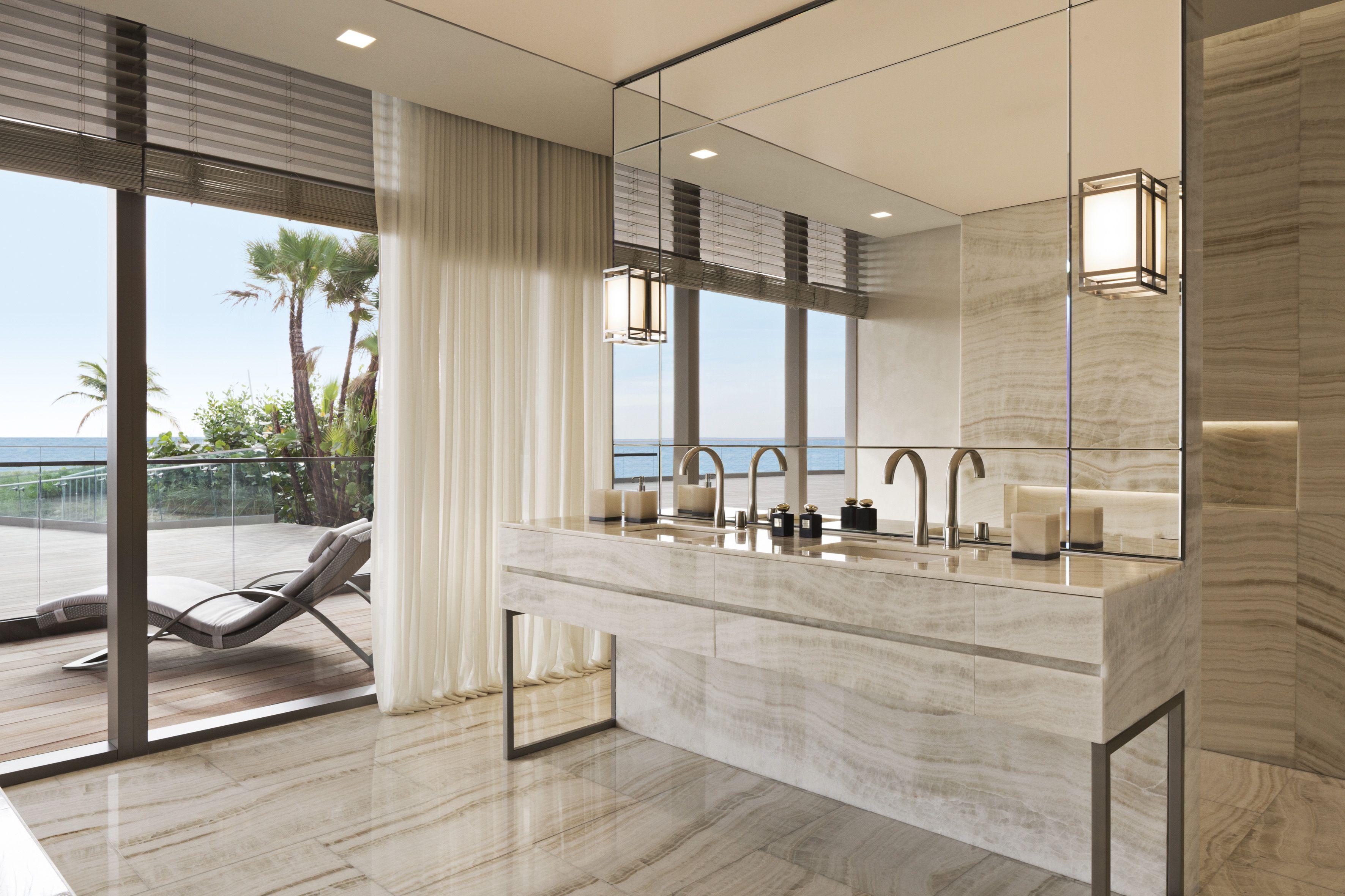 Armani/Casa designed the interiors of a new luxury development project in Miami, Florida.