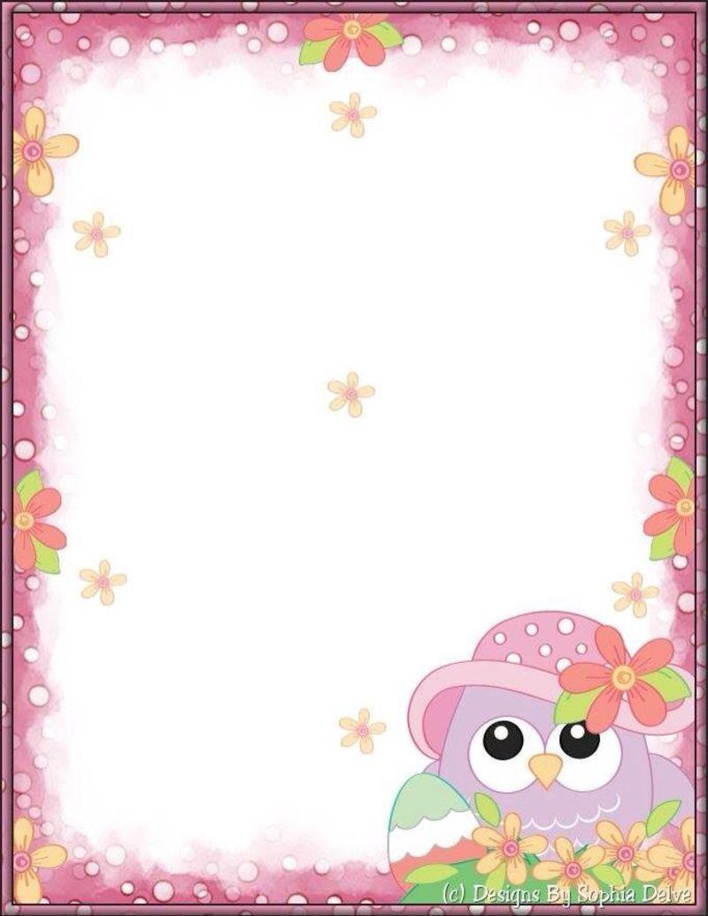 Image du blog stationary for Paginas decoradas