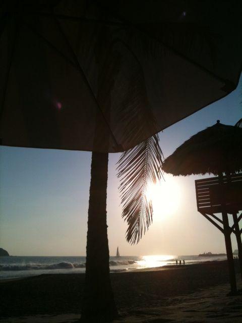 Sunset; Ixtapa Mexico