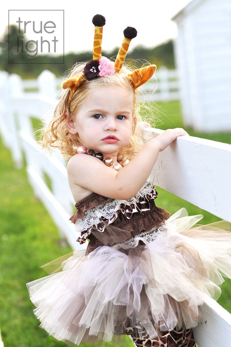 Giraffe Halloween Costume -  Tutu Cute  Giraffe Costume - Girl Toddler Baby Infant Newborn  sc 1 st  Pinterest & Giraffe Halloween Costume -