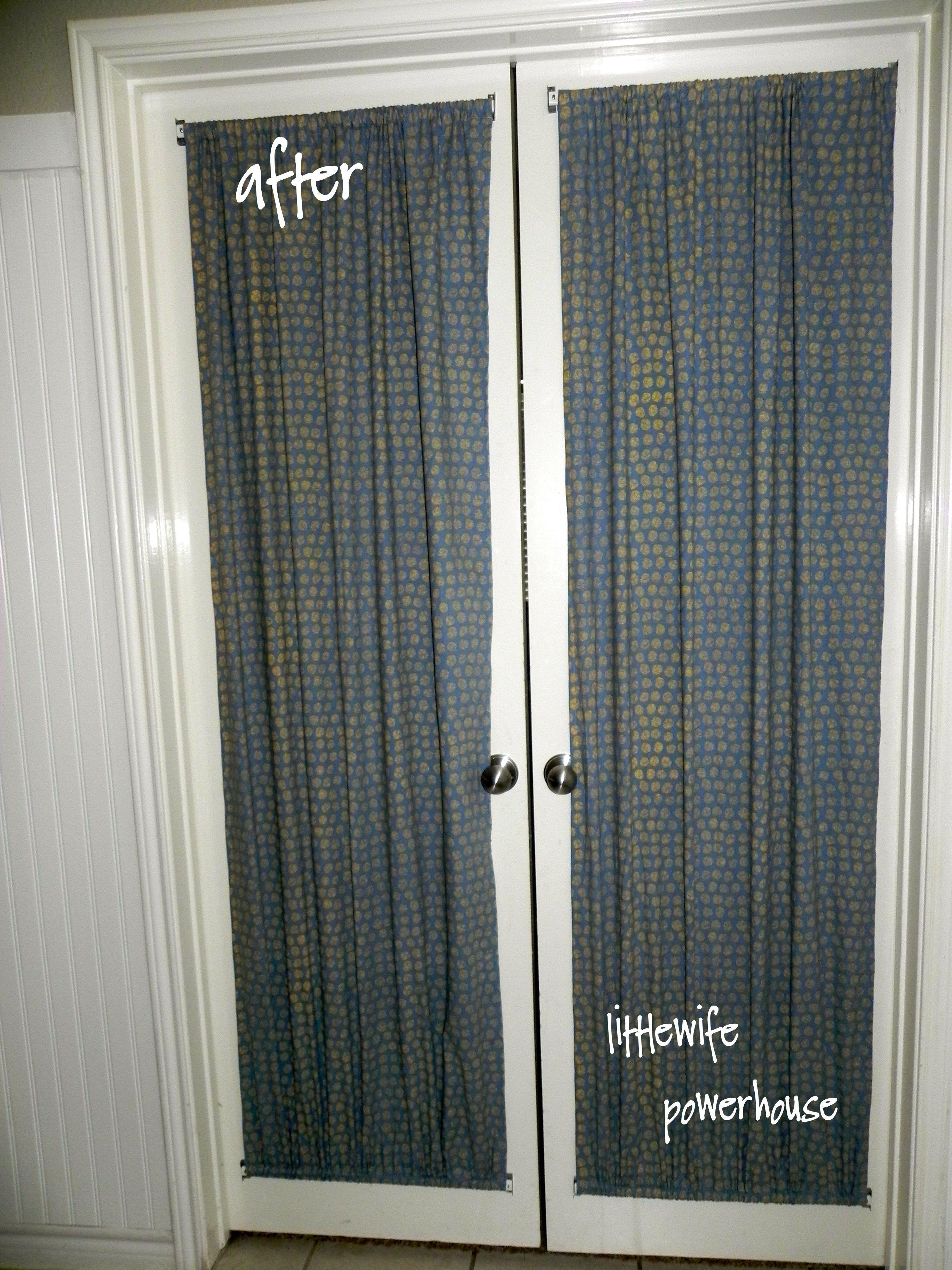 Diy French Door Curtains Door Curtains Diy French Door Curtains