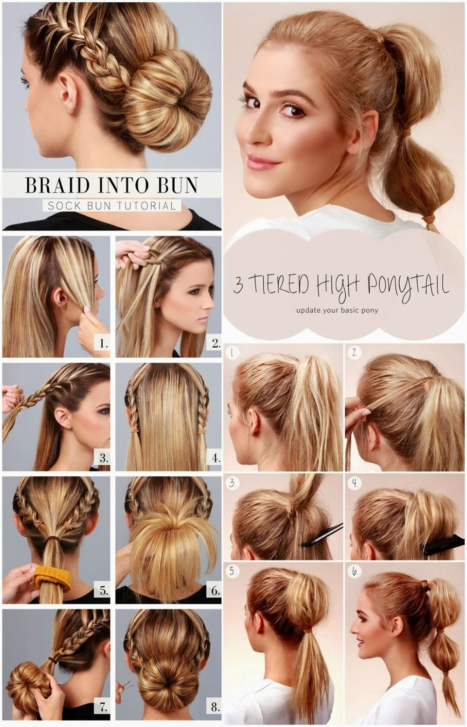 4 Cute Hairstyles To Wear This Summer! ☀️  Cute hairstyles