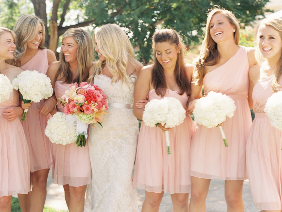 Colorful outdoor celebration after the storm celebrations colorful outdoor celebration after the storm white bridesmaid bouquetsbridesmaid dress ombrellifo Choice Image