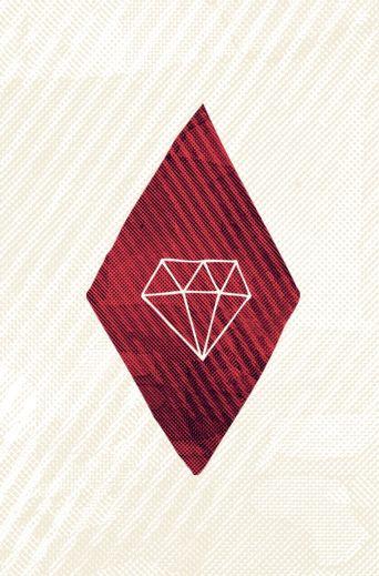 Diamond illustration by Hector Mansilla #Hector_Mansilla #againstbound #diamond #flickr  http://www.flickr.com/photos/againstbound/3901527058/