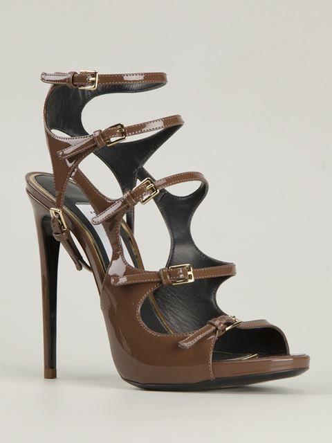 Marco Proietti Design 'multi Buckle' Sandals - Biondini Paris - Farfetch.com