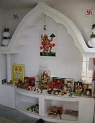 Puja Room Design. Home Mandir. Lamps. Doors. Vastu. Idols Placement. Part 68
