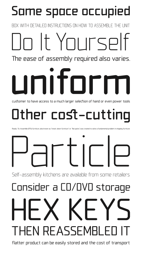 Download Friday Font Find: Flat Pack | Lettering, Flat pack, Typography