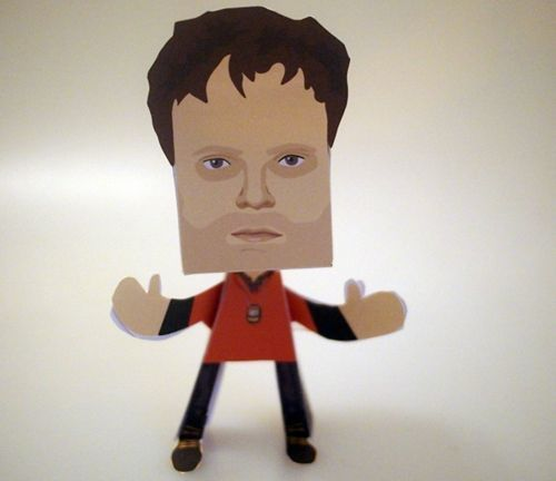 Backstrom - Everett Backstrom Paper People Free Paper Toy Download - http://www.papercraftsquare.com/backstrom-everett-backstrom-paper-people-free-paper-toy-download.html#Backstrom, #EverettBackstrom, #PaperPeople
