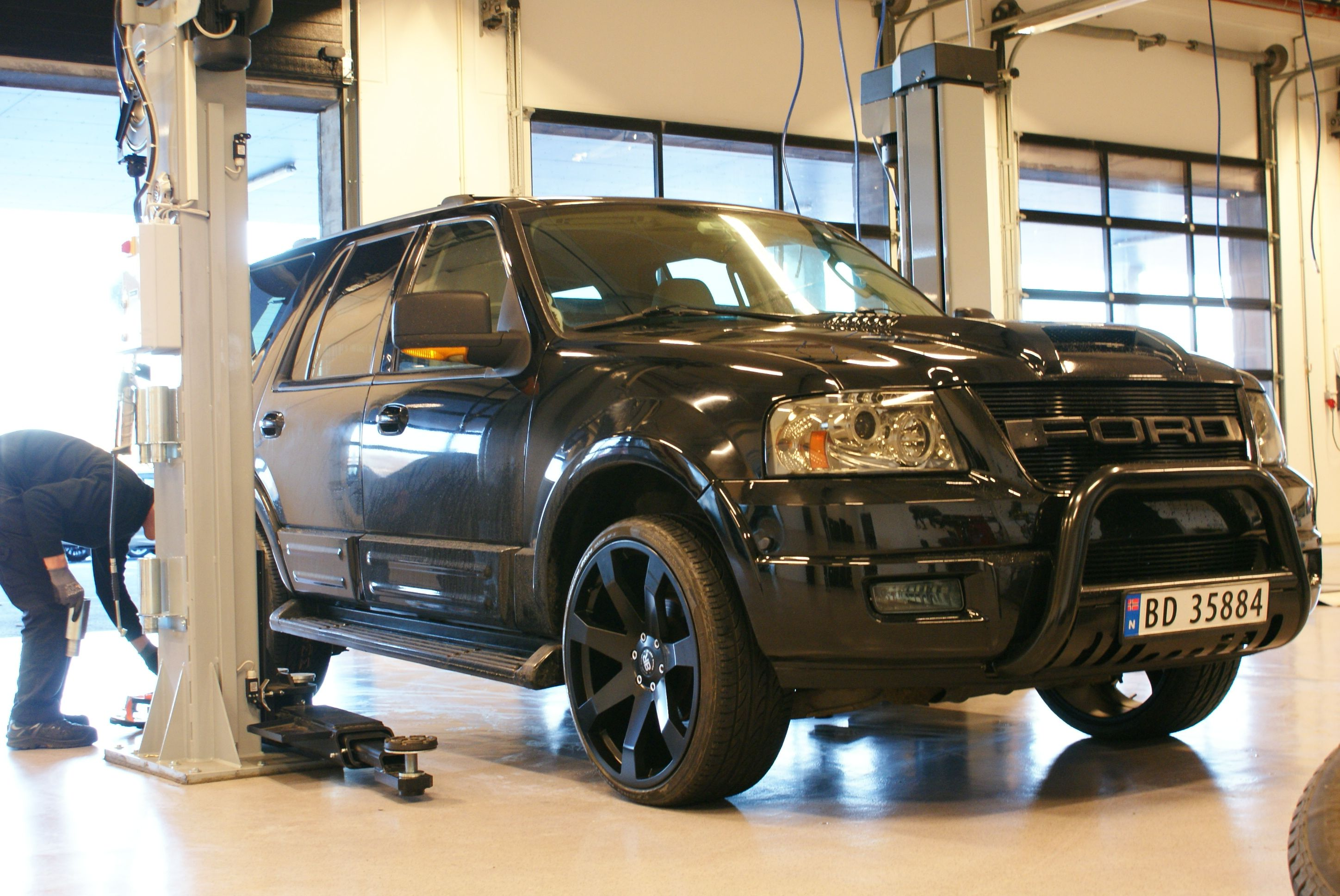 Ford expedition on new 24 at dekkstra no norway