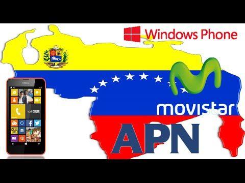 Instalar Las APN De Movistar Windows Phone VENEZUELA