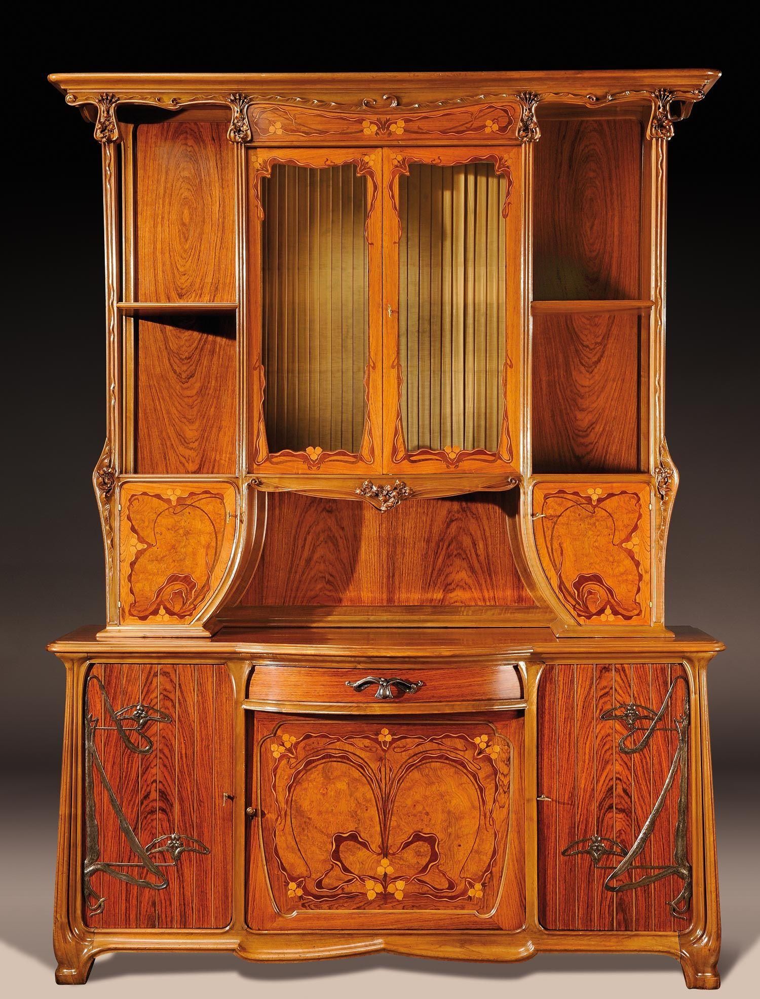 Louis majorelle 1859 1926 meuble de style pinterest art nouveau mobilier de salon et - Art nouveau meuble ...