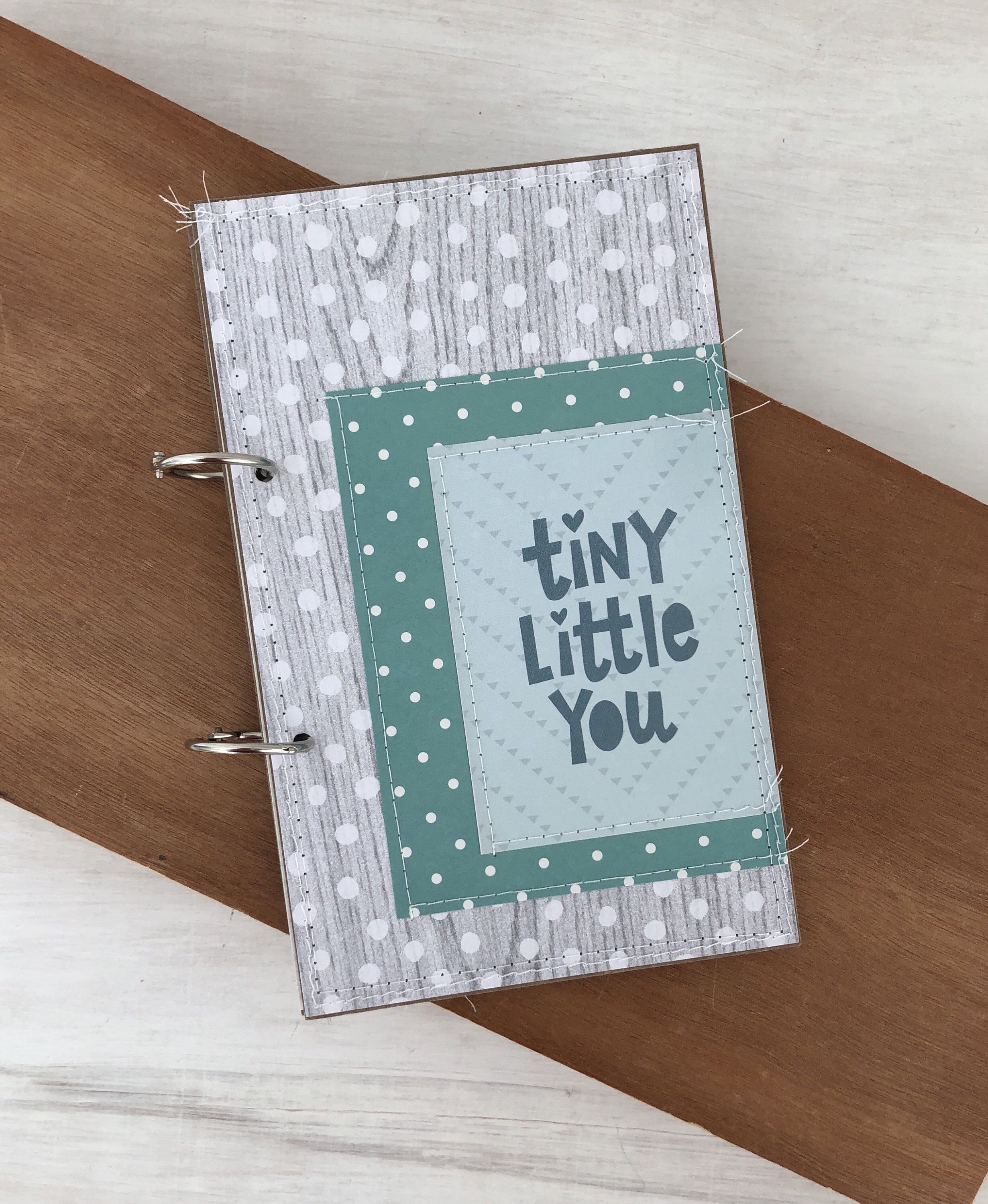 Greeting Card Organizer Baby Mini Album Foster Care Baby Book