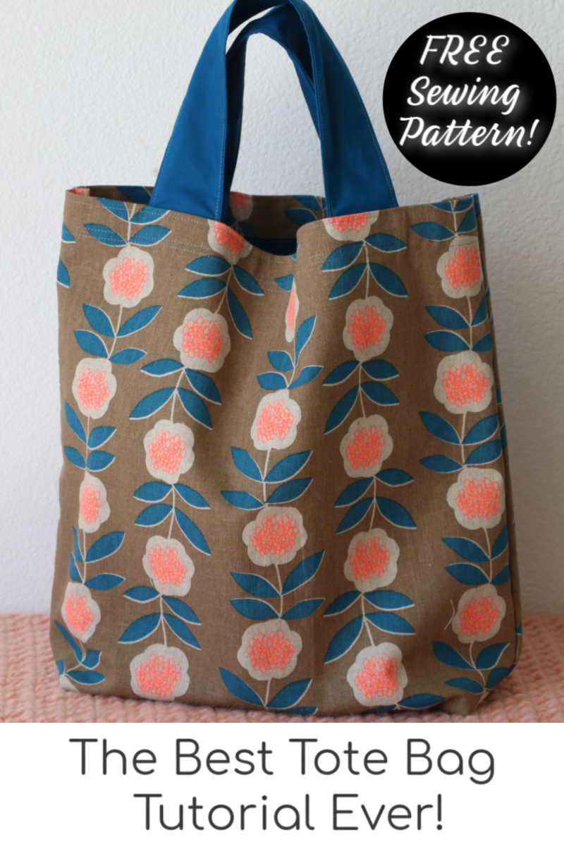 How to Sew a Tote Bag - Learn to Sew Series