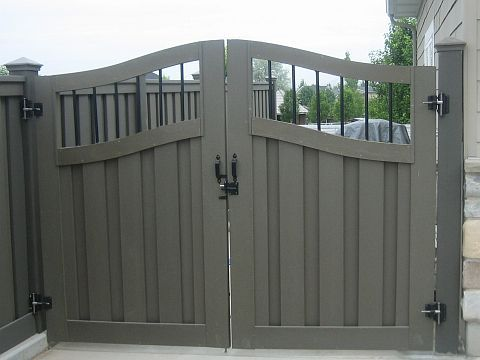 Metal Fence Gate Designs A trex fence with a double wide gate a girl can dream field a trex fence with a double wide gate a girl can dream workwithnaturefo