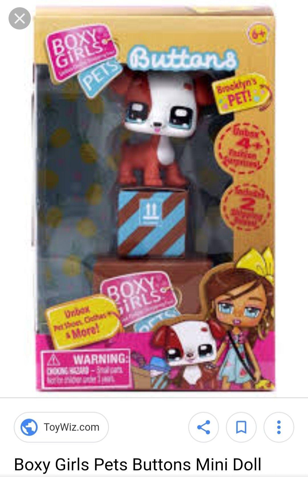 Boxy Girls JUMBO CRATE Big Box 2 LIMITED EDITION DOLLS 28 Surprise Boxes New!