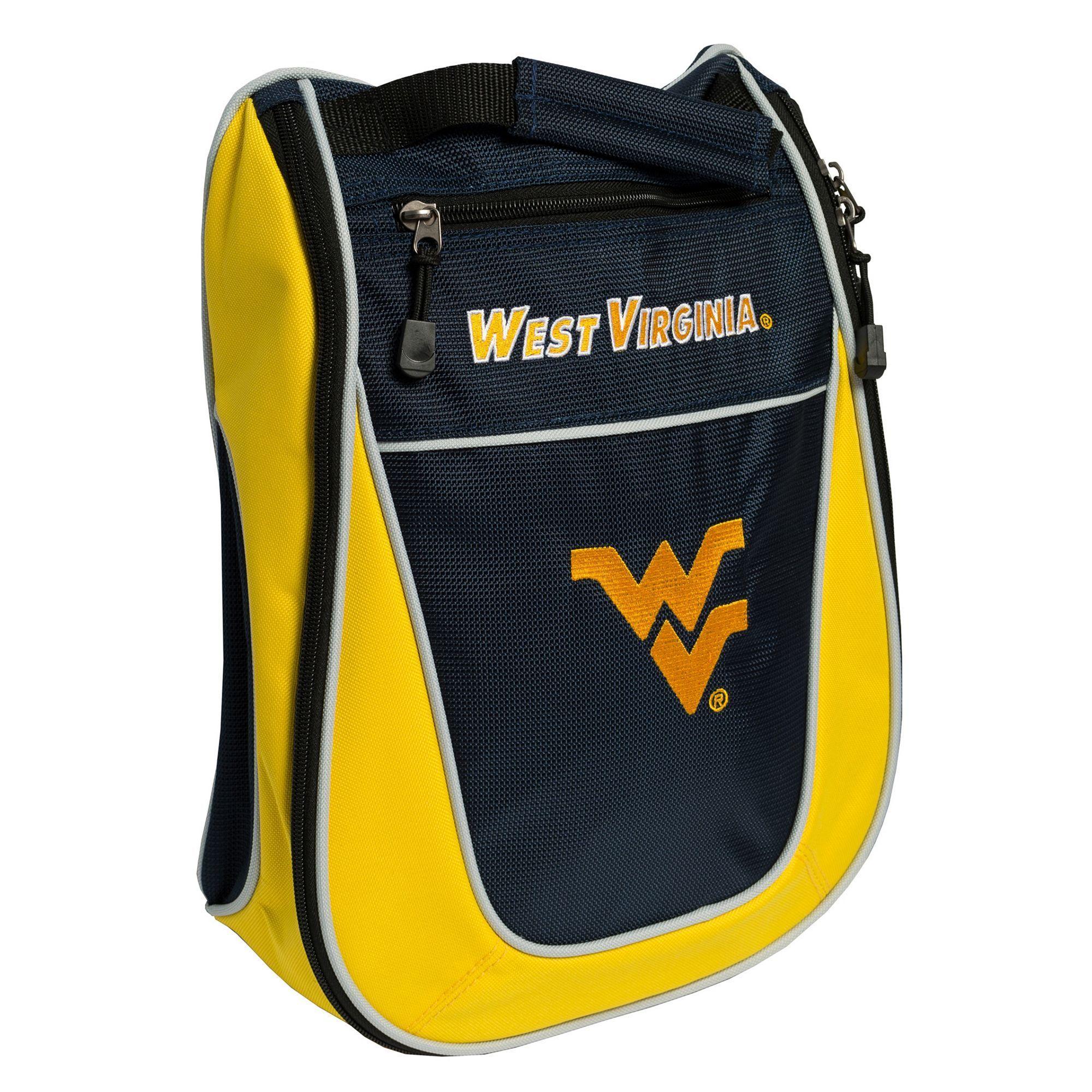 Team Golf West Virginia Mountaineers Golf Shoe Bag in