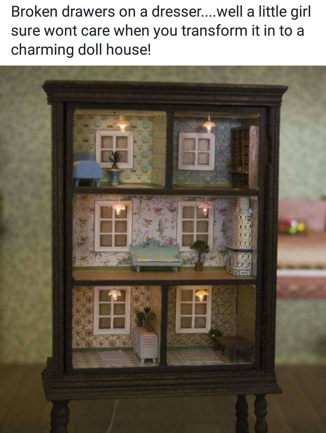 Photo From Creative Crafts By Wendy Saunders Bookshelf Dollhouse Diy Furniture Kid