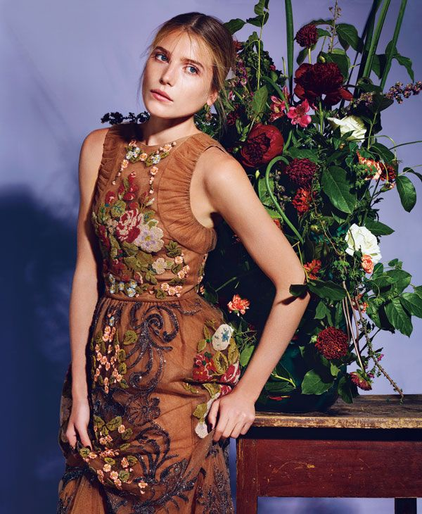 Fall's Rich Tapestry, Dree Hemingway's Fashion Editorial