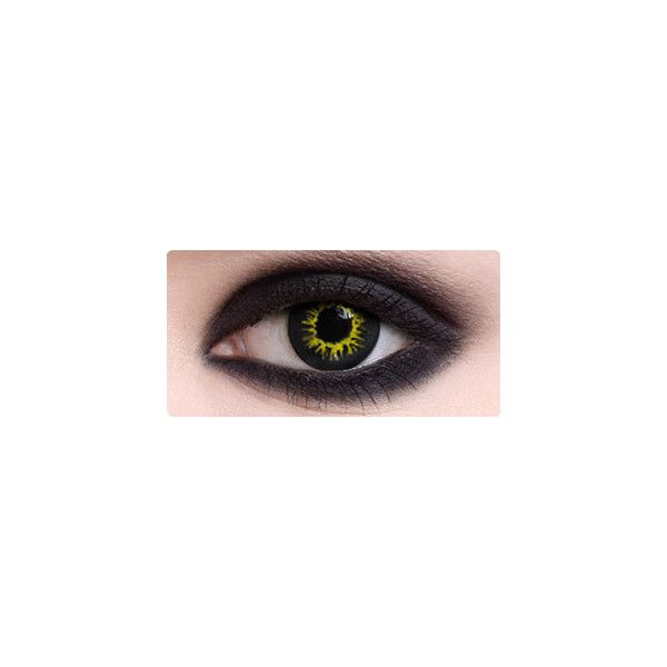 Black Wolf Eyes Halloween Contacts Theatrical Contact Lenses