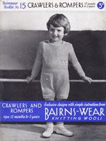 a9815bfce 1930 s Vintage Baby Clothes Knitting Patterns from The Vintage ...