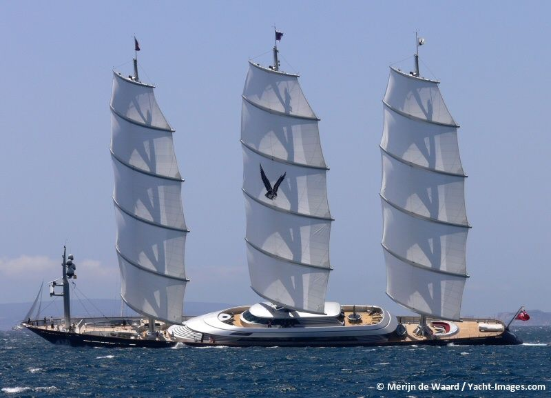 Our Definitive List Of The Top 50 Largest Sailing Yachts In The World Including Maltese Falcon And Sybaris P4 Mikhail S Voront Sailing Sailing Yacht Yacht